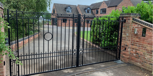 derby based electric gate experts wrought art