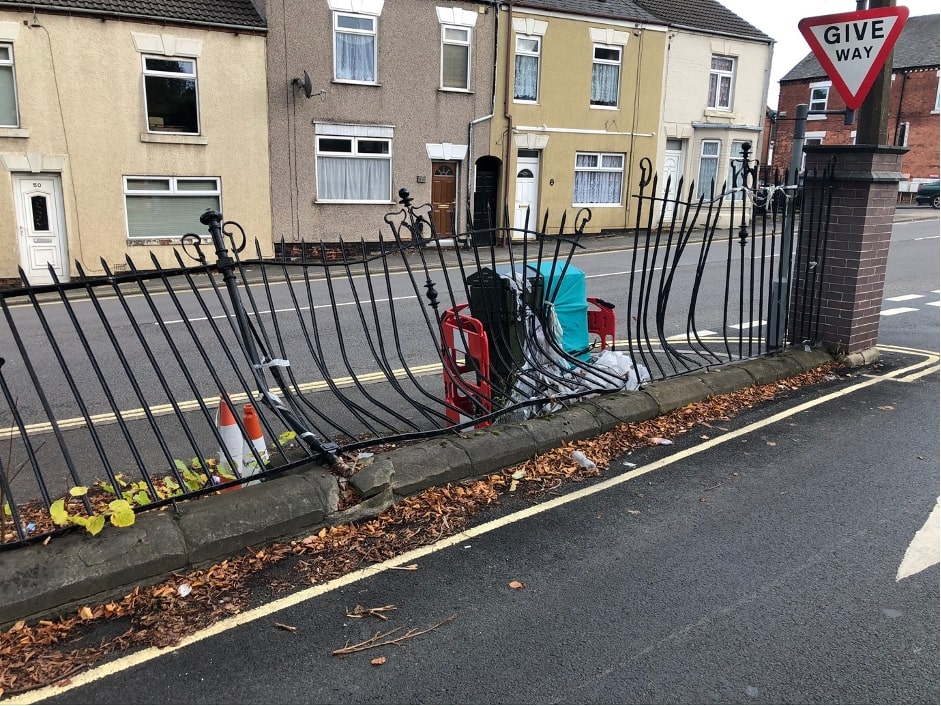 iron railing repair company in derby