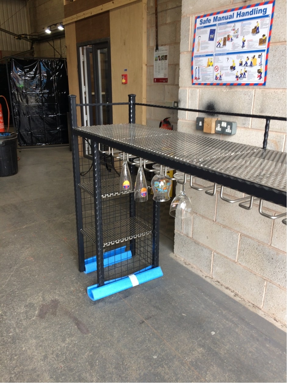 metal bar storage system