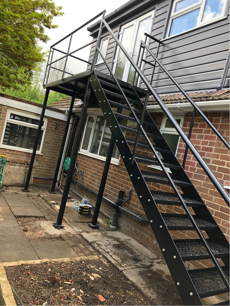 steel staircases derby